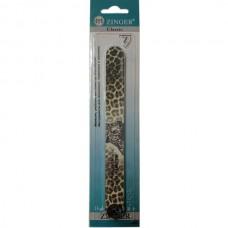 Пилка прямая Zinger (Зингер) Леопард, цвет зеленый, 150/220, ZO EA-1319