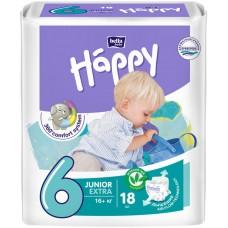 Подгузники Bella Happy Junior Extra 6 (16+ кг) 18 шт