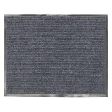 Коврик ворсовый влаго-грязезащитный Лайма серый, 120х150 см
