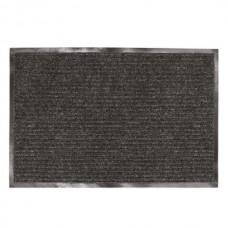 Коврик ворсовый влаго-грязезащитный Лайма черный, 120х150 см