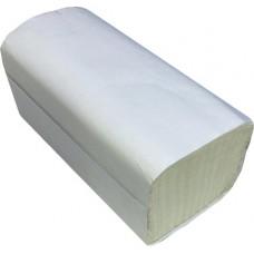 Листовые полотенца Teres (Терес) Стандарт Т-0226, V-сложения, 1-х слойные, 23х21 см, 200 листов