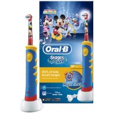 Детская электрическая зубная щетка Oral-B (Орал-Би) Mickey Mouse