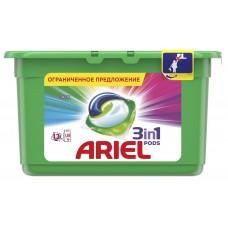 Гель для стирки в растворимых капсулах ARIEL автомат Color & Style, 13 шт*28,8 г