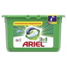 Гель для стирки в растворимых капсулах ARIEL автомат Горный родник, 13 шт*28,8 г