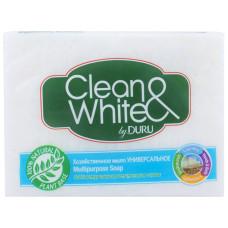 Мыло хозяйственное Duru (Дуру) Clean & White Универсальное, 125 г