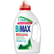 Гель для стирки BiMax (Бимакс) 100 пятен, 1,5 л