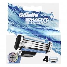 Кассеты для бритья Gillette Mach 3 Start (Джилет Мак 3) (4 шт)