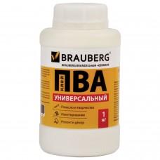 Клей пва Brauberg универсальный (бумага, картон, дерево), 1 кг