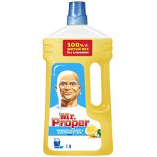 Моющая жидкость для полов и стен Mr. Proper (Мистер Пропер) Лимон, 1 л