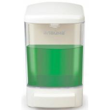 Диспенсер для жидкого мыла Лайма, белый АВС-пластик, наливной, 1 л