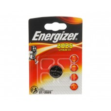 Батарейка литиевая таблетка Energizer (Энерджайзер) CR2025, 1 шт