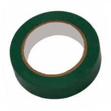Изолента ПВХ зеленая, 20 м, 19 мм