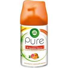 Освежитель воздуха AirWick (Аирвик) Pure Апельсин  и Грейпфрут, 250 мл