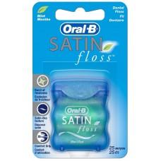 Зубная нить Oral-B (Орал-Би) SatinFloss мятная, 25 м