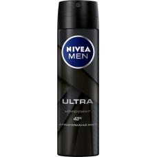 Дезодорант-антиперспирант мужской Nivea спрей Ультра, 150 мл