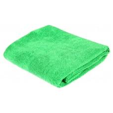 Салфетка из микрофибры (без упаковки) зеленая, 60х80 см 220 г/кв.м.
