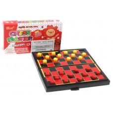 Настольные шашки Chess Master, магнитные, в коробке, 12 см × 6,5 см × 2 см