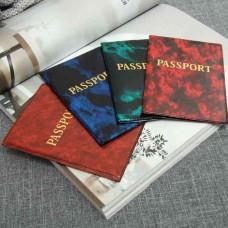Обложка для паспорта Латинские буквы, микс