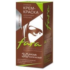 Краска для бровей и ресниц Fara - 3.0 коричневый