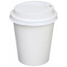 Стакан одноразовый бумажный для горячих напитков, белый, 250 мл, 50 шт