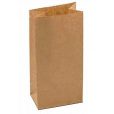 Пакет бумажный крафтовый 80х50х170, 70 гр, 25 шт