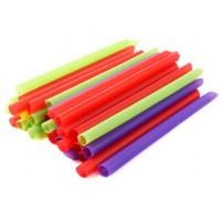 Трубочки для коктейлей мини, цветные, 400 шт