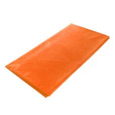 Скатерть Флис, 110х140 см, (оранжевая)