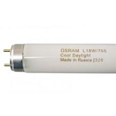 Лампа линейная люминесцентная ЛЛ OSRAM, 18 W/765 G13 цвет белый, 60 см