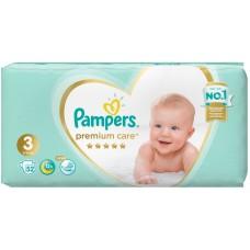 Подгузники Pampers (Памперс) Premium Care Midi 3 (6-10 кг), 52 шт