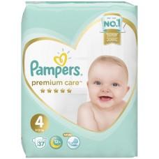 Подгузники Pampers (Памперс) Premium Care Maxi 4 (9-14 кг), 37 шт
