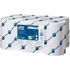 Бумажные полотенца Tork (Торк) Advanced Н13 EnMotion, цвет белый, 24,7 см, 2-слойные, 6 рулонов по 143 метра