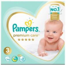 Подгузники Pampers (Памперс) Premium Care Midi 3 (6-10 кг), 114 шт