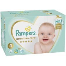 Подгузники Pampers (Памперс) Premium Care Maxi 4 (9-14 кг), 82 шт