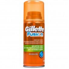 Гель для бритья Gillette Fusion Hydra Gel Sensitive Skin (для чувствительной кожи), 75мл
