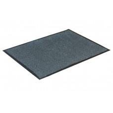Ковер ворсовой на резиновой основе, серый (Пс), 120х150 см