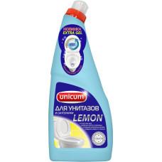 Гель для чистки унитазов Unicum Лимон, 750 мл