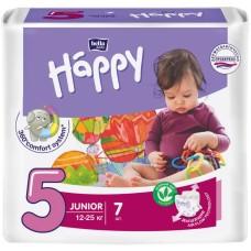 Подгузники HAPPY Junior 5 (12-25 кг) 58 шт