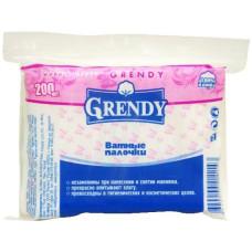 Ватные палочки Grendy (Гренди) пакет, 200 шт