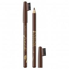 Карандаш для бровей Eveline (Эвелин) Eyebrow Pencil тон светло-коричневый