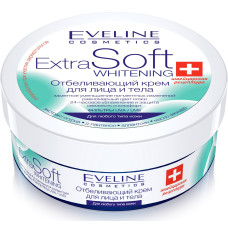 Eveline Отбеливающий крем для лица и тела Extra soft whitening, 200 мл