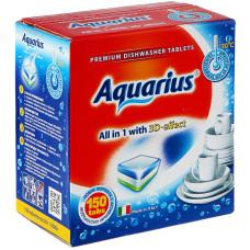 Таблетки для посудомоечных машин Lotta (Лотта) Aquarius, 150 шт