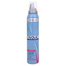Мусс для укладки волос Nova (Нова) Extra Hold сильной фиксации, 200 мл