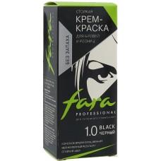 Краска для бровей и ресниц Fara - 1.0 чёрный