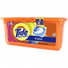 Гель для стирки в растворимых капсулах Tide (Тайд) автомат Color, 30х24,8 г