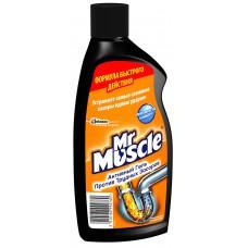 Гель для труб Мистер Мускул, цвет черный, 500 мл