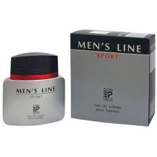 Мужская туалетная вода Men's Line Sport, 90 мл