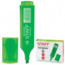 Текстмаркер STAFF, скошенный наконечник 1-5 мм, зеленый