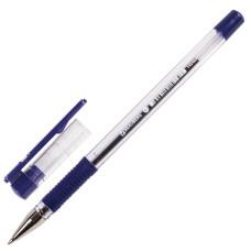 Ручка шариковая с грипом Brauberg X-Writer узел 0,7 мм, линия 0,35 мм, (синяя)