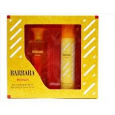 Подарочный набор  для женщин Barbara Woman (Барбара Вумен) (туалетная вода 50 мл + дезодорант 75 мл)