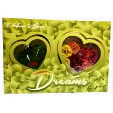 Подарочный набор  для женщин Dream Green (Дрим Грин) (Туалетная вода 100 мл + Мыло)